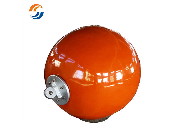 Floating Mooring Pick Up Buoy Foam Filled Mooring Buoys Impact Resistance