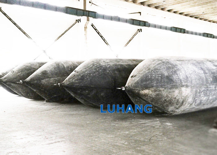 Marine Vulconized Rubber Boat Ship Lift Air Bags Length 1.5m To 10m Airbag